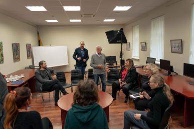 Susitikimas LGKVC Šiaulių teritoriniame skyriuje